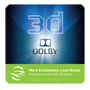 Dolby 3D Static Clings