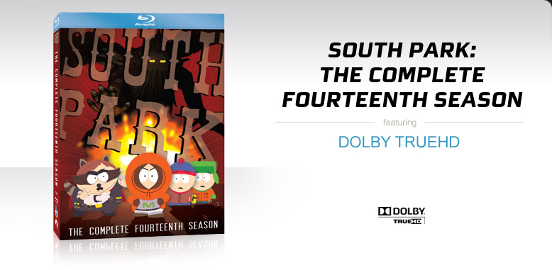 South Park: The Complete Fourteenth Season on Blu-ray