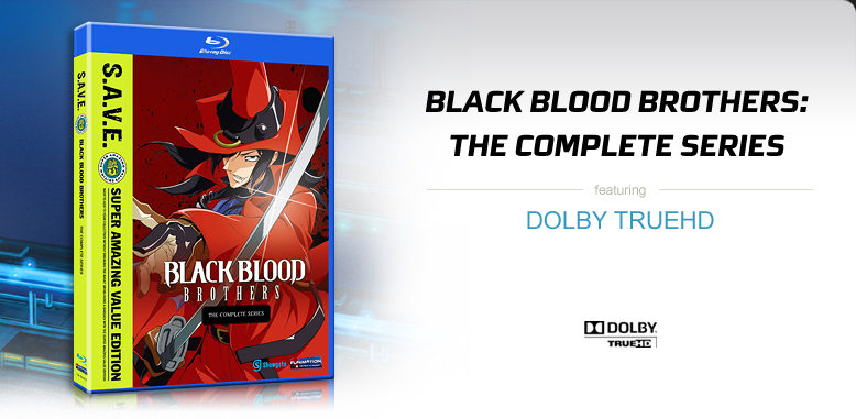 Black Blood Brothers: The Complete Series featuring Dolby TrueHD