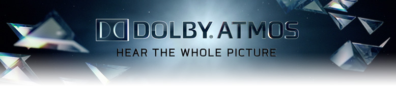 Movies presented in Dolby Atmos