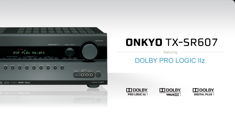 Consumer - Find Products - Home Theater - AVR - Onkyo TX-SR607