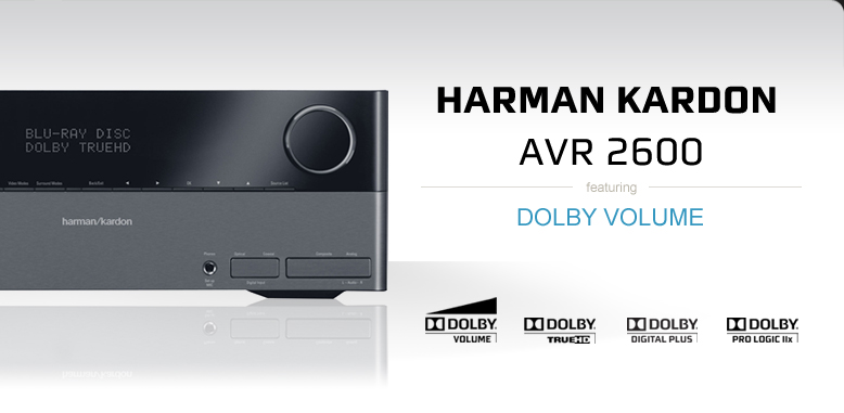 Harman Kardon AVR 2600 featuring Dolby Volume