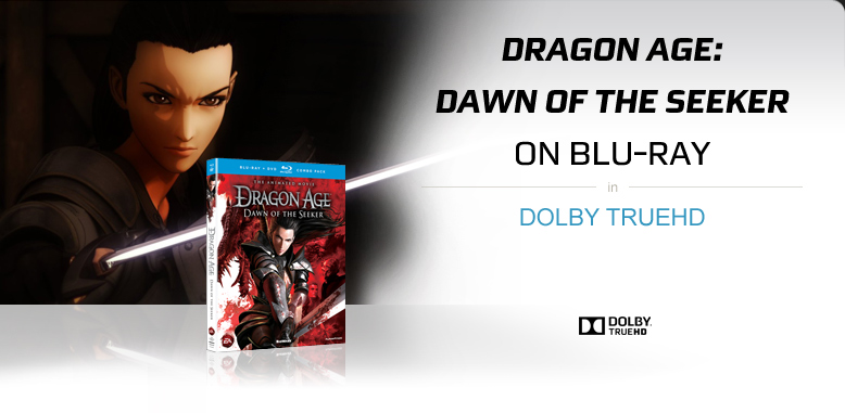 Dragon Age: Dawn of the Seeker on Blu-ray with Dolby TrueHD