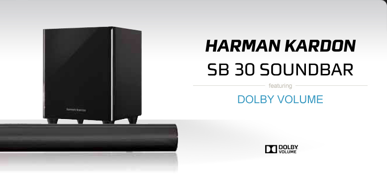 Harman Kardon SB 30 Sound Bar with Dolby Volume