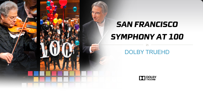 San Francisco Symphony on Blu-ray with Dolby TrueHD