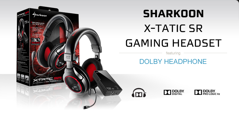 Sharkoon Headset with Dolby Headphone