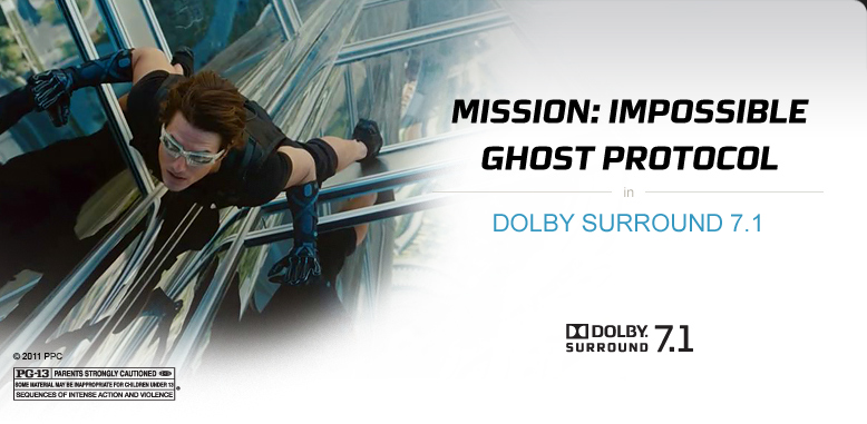 Mission Impossible in Dolby Surround 7.1