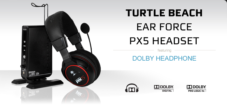 Turtle Beach Ear Force PX5 Headset