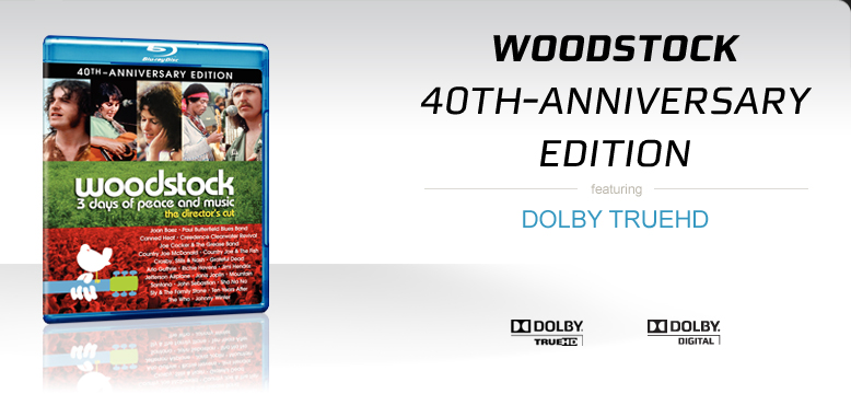 Consumer - Find Products - Home Theater - Blu-ray - Woodstock 40th Anniversary Redux