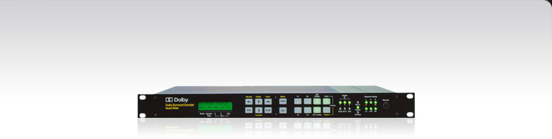 DP563 Dolby Surround and Pro Logic II Encoder