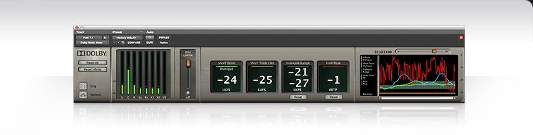 Professional - Products - Pro Audio - Dolby Media Meter 2