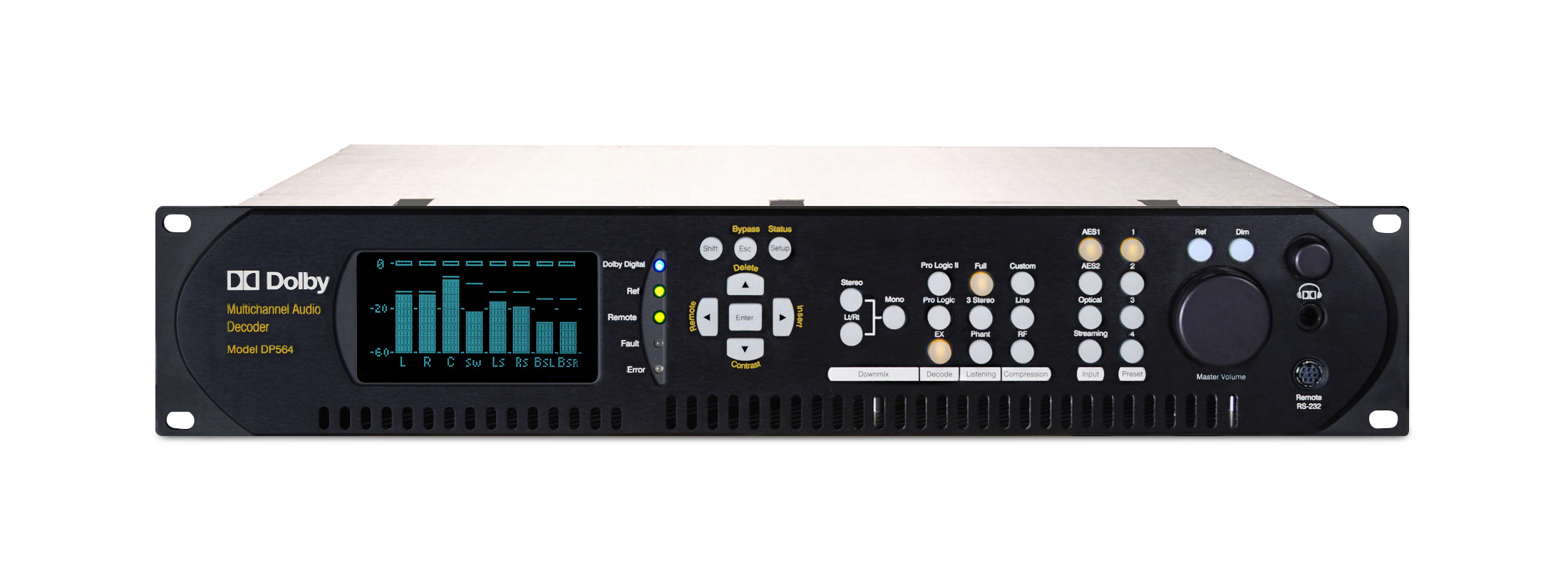 multichannel-audio-decoder-DP564-product-preview-front
