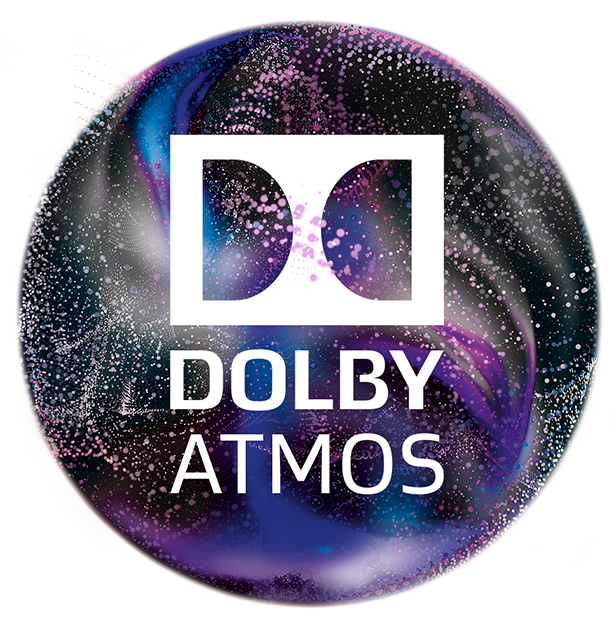 Dolby Atmos Cinema Accented Logo Gutter